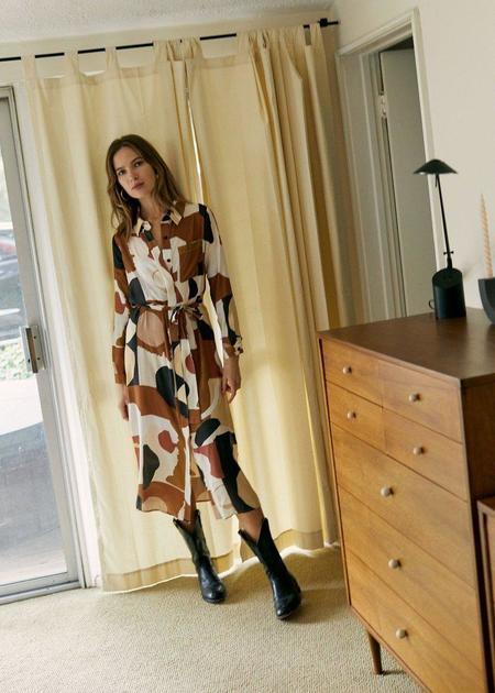 Whimsy + Row Zoe Dress - Abstract
