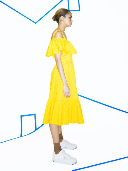 Samantha Pleet Paramour Dress - Lemon