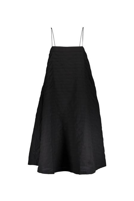 Alpha 60 Lacey Dress in Black