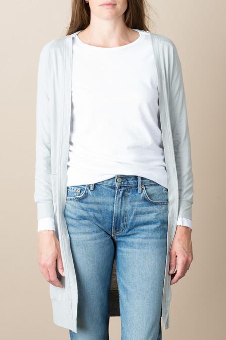 VRoom L/S Cotton Modal Cardigan In Grey