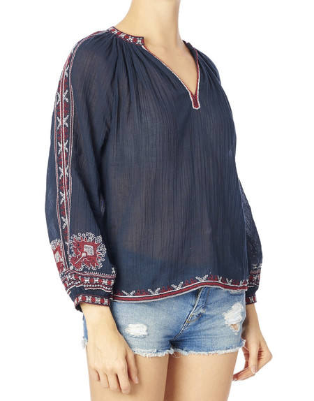 Star Mela  Anka Embroidered Blouse