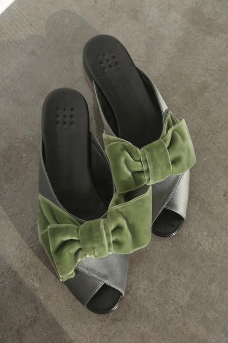 TRADEMARK Madeleine Pajama Sandal in Sage