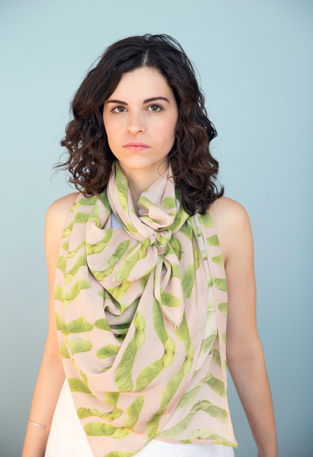 Calica Studio Silk Scarf - Keys for Keys