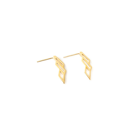 Matters of Delight - Volo Earrings Gold