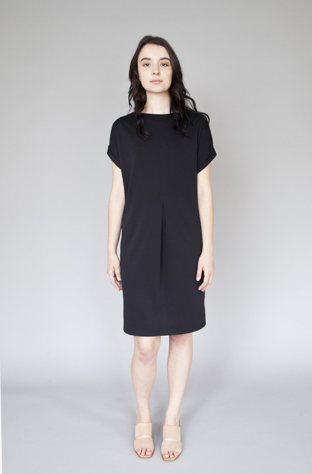 Valérie Dumaine Fern Dress Black