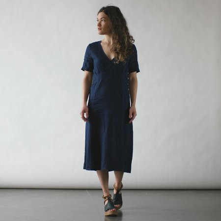 Sugar Candy Mountain The Anna Dress in Navy