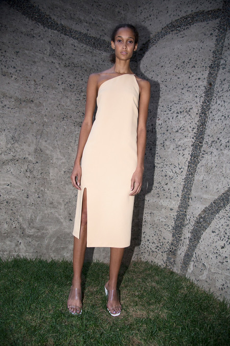 Nomia Peak Dress - Apricot