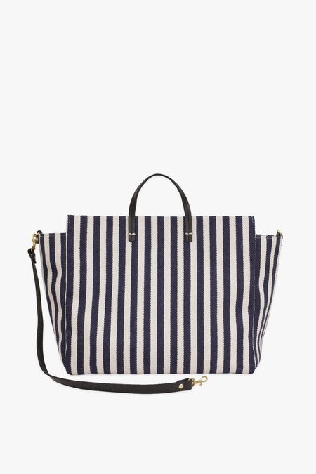 Clare V. Simple tote in mariner stripe