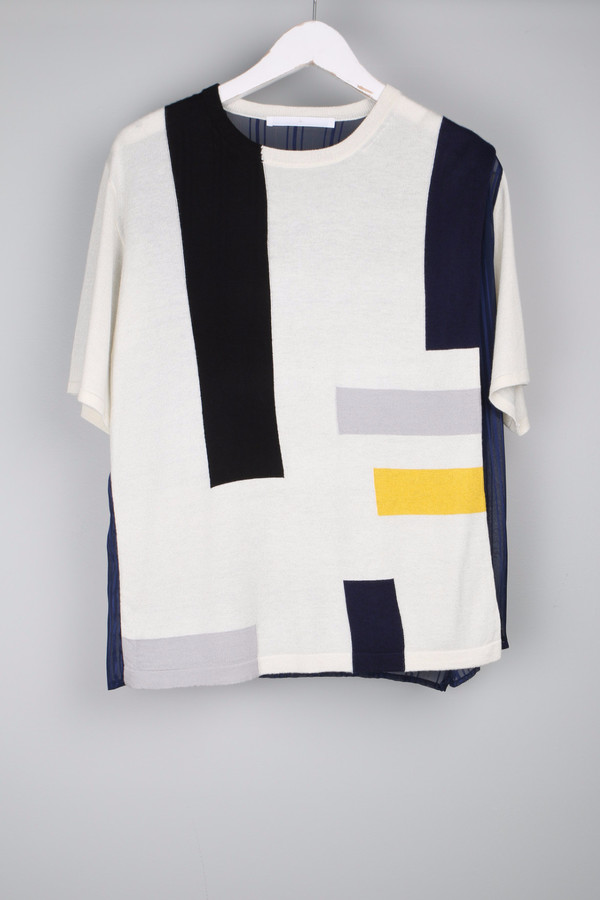 Thakoon Addition Geometric T-Shirt