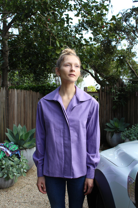 Baserange Isha Shirt Purple