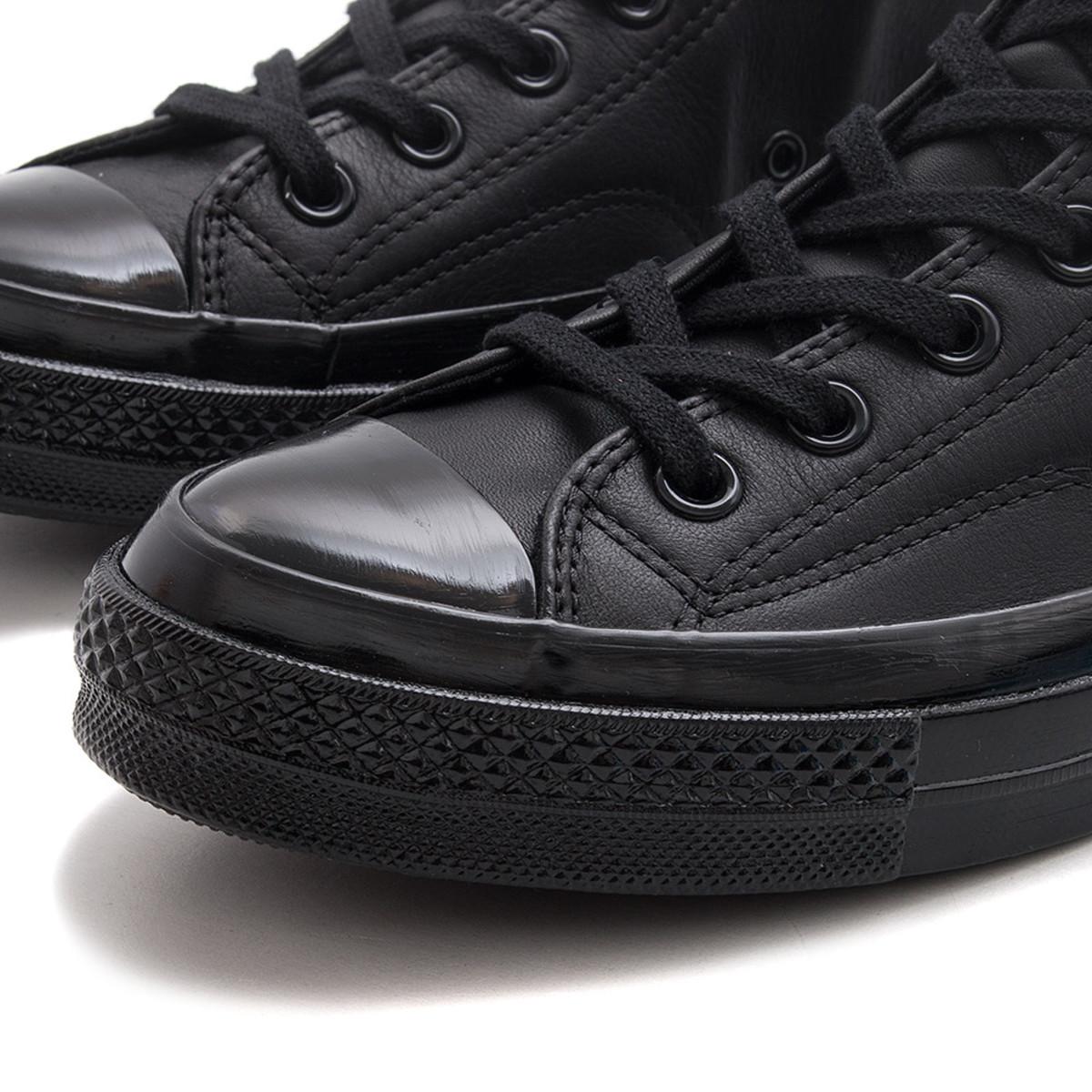 d3050ff76a58 Converse Chuck Taylor All Star 70 Mono Leather Hi - Black