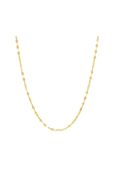 Sachi Jewelry Twisted Mirror Chain