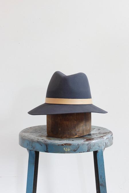 Janessa Leone Lucy Hat in Gunmetal