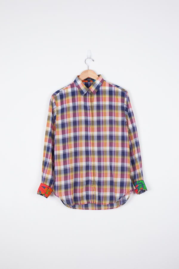 Suno Checked Button Down