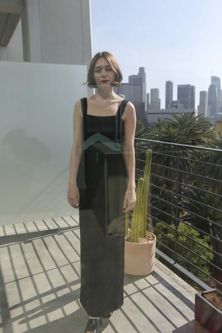 Mila Zovko Luna Dress in Black/Green