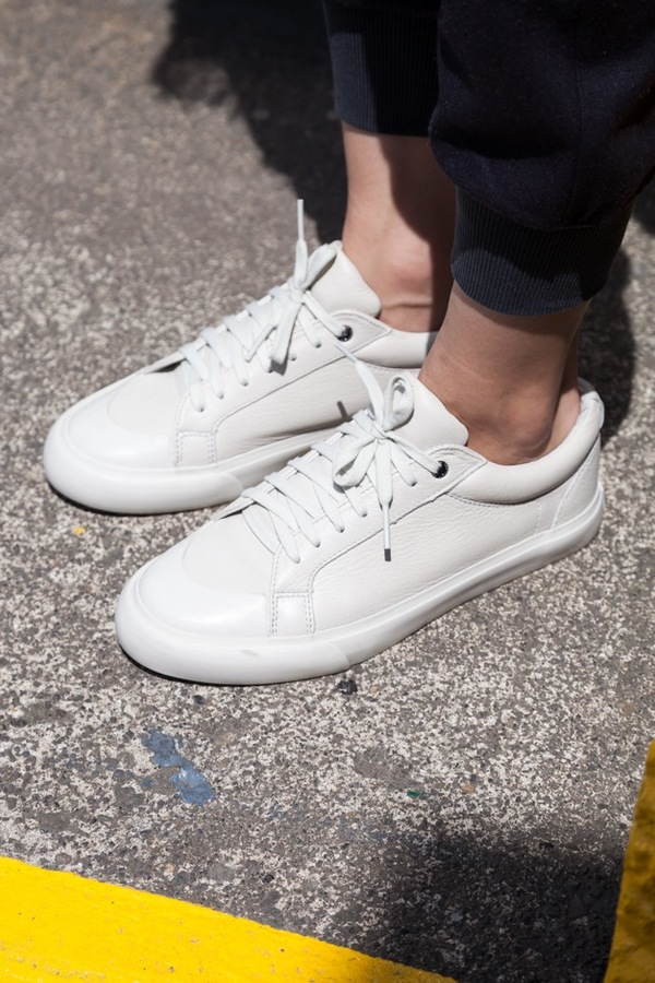 Impossible Possibility by Sisii Athletic Low Sneaker-white