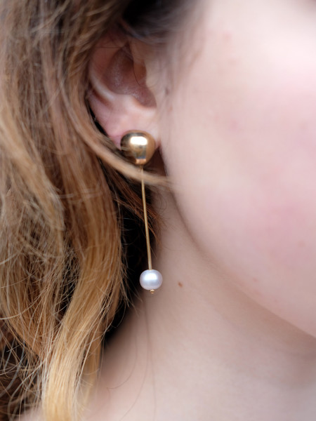 Uni Jewelry CIA PEARL EARRINGS