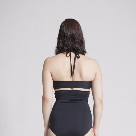 Mimi Hammer Bandeau Top - Black