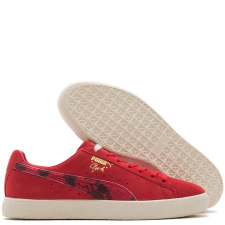 Puma Cream x Packer Clyde - High Risk Red