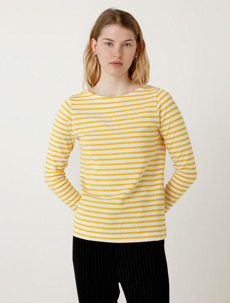 Norse Projects Inge Classic Stripe Summer Yellow