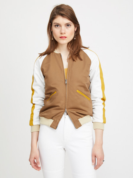 Nikki Chasin CAPTAIN REVERSIBLE BOMBER - CHENILLE DOT