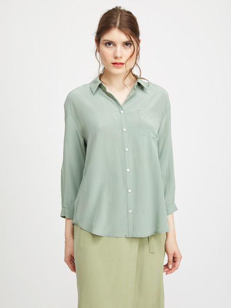 ARE Studio CLEMINS BLOUSE - SEA