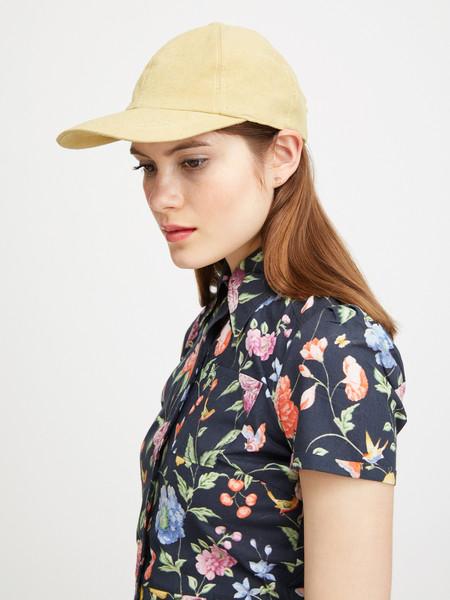 Colorant RAW SILK FITTED CAP - DANDELION