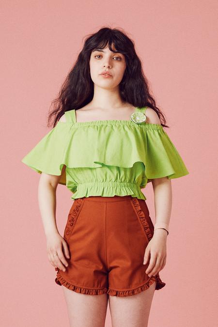 Samantha Pleet Canopy Blouse