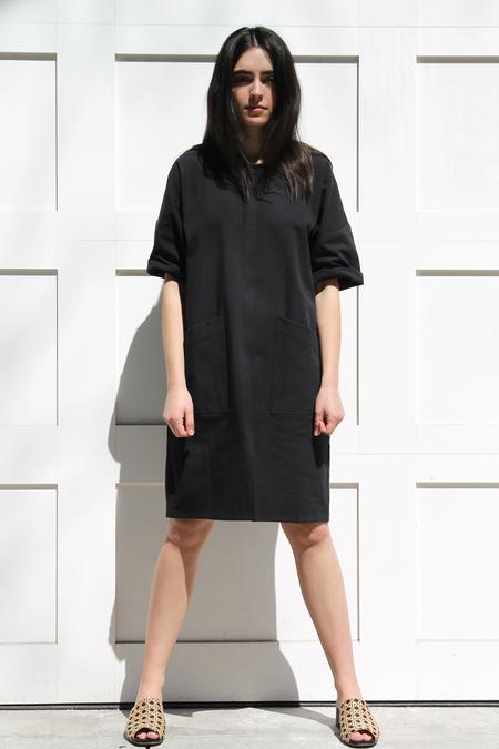 MICAELA GREG NOTCH DRESS
