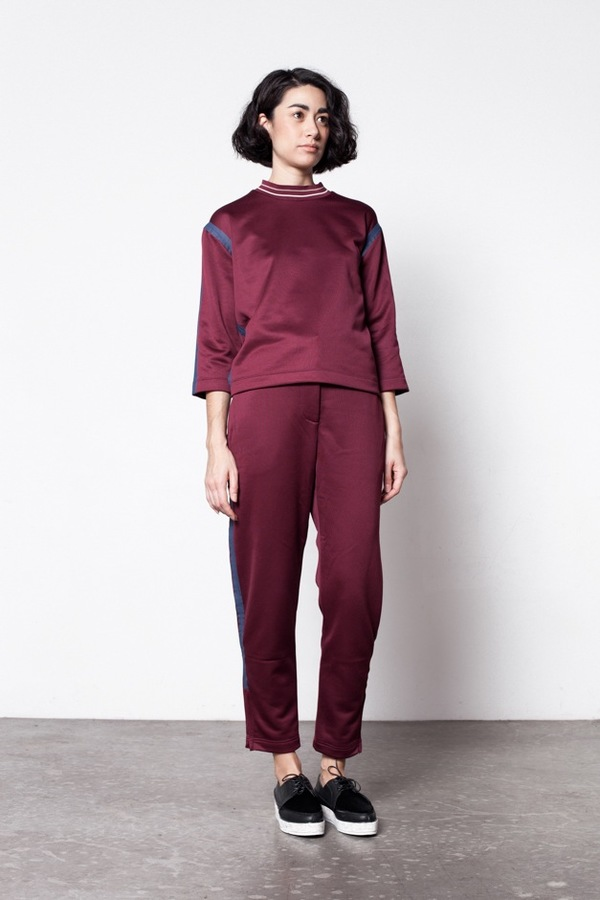 Wood Wood Hope Sweatshirt - Burgundy
