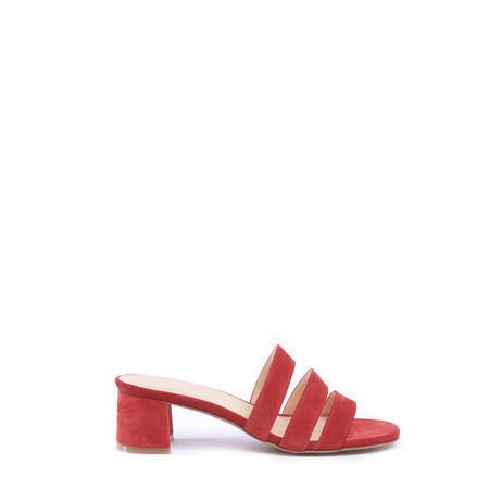 Marias USA Jane Mule in Cherry