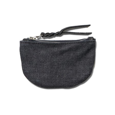 MAPLE Zip Pouch Denim - Rigid