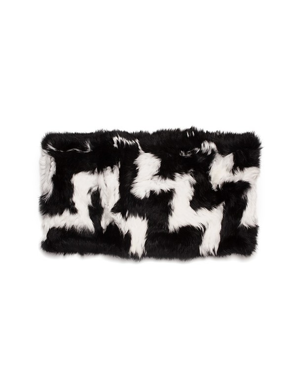 C/Fan Sofie Infinity Cowl, Black/White