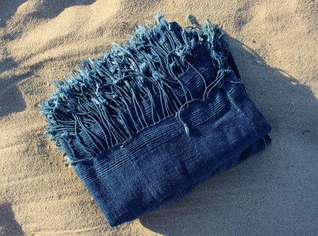 One of a Kind Textile - Indigo