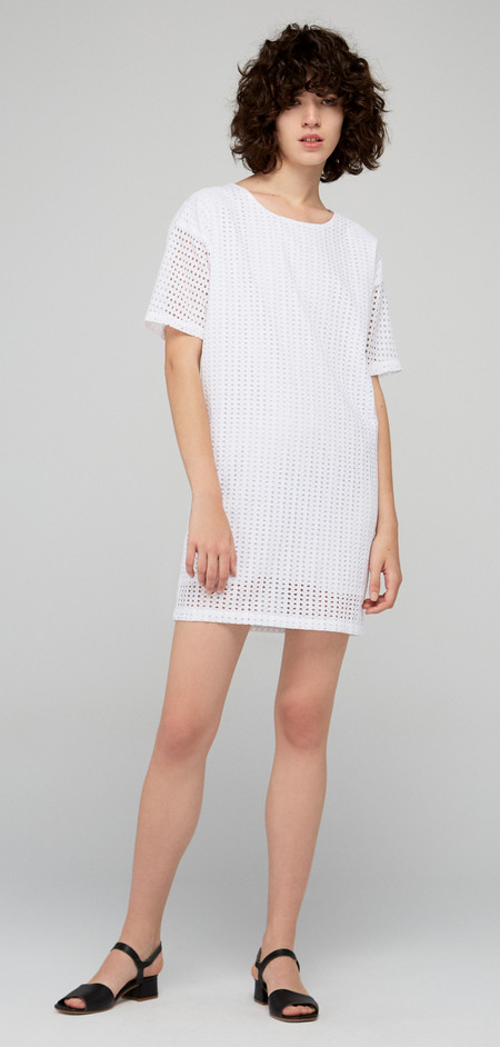 "Diarte ""Fabian"" Embroidered Cotton Batiste Dress"