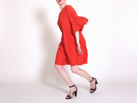 Correll Correll Coco Dress - Red