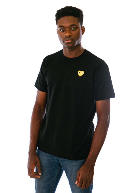 Comme des Garçons PLAY T-Shirt - Gold Heart
