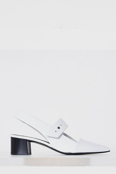 Megumi Ochi Leather Agon Heel - White