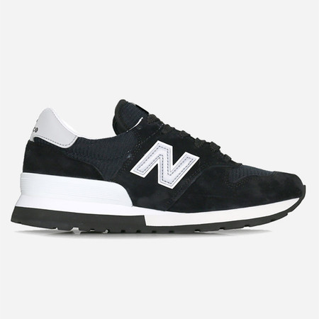 New Balance M995CHB Made in the USA - Black/Silver