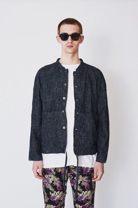 Unisex ZED Silk/Cotton Cropped Catchall Jacket
