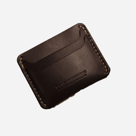 DW Leatherworks Slim Wallet (3 card + middle) - Brown