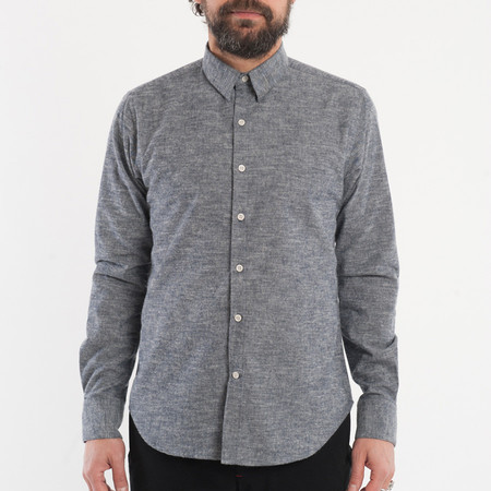 18 Waits The Dylan Shirt - Indigo Slub Flannel