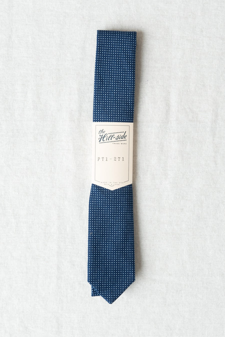 The Hill-Side/Hickoree's Standard Tie In Wabash Polka Dot