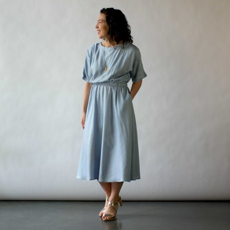 Curator Etta Dress in Sky