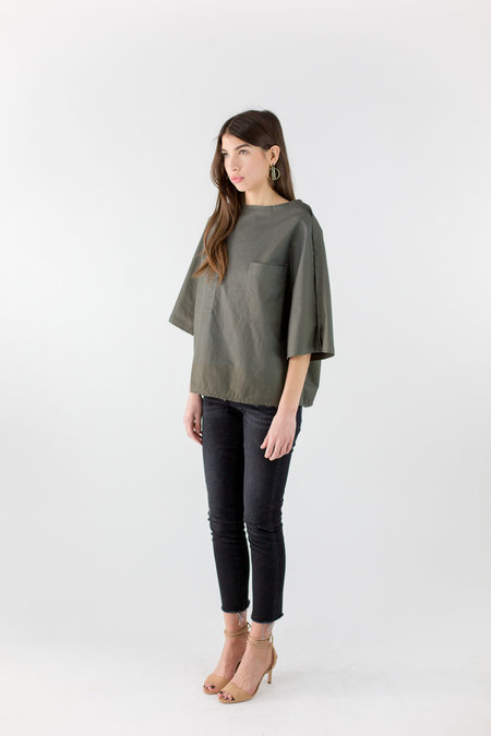 Priory Sayan Shirt - Dull Green