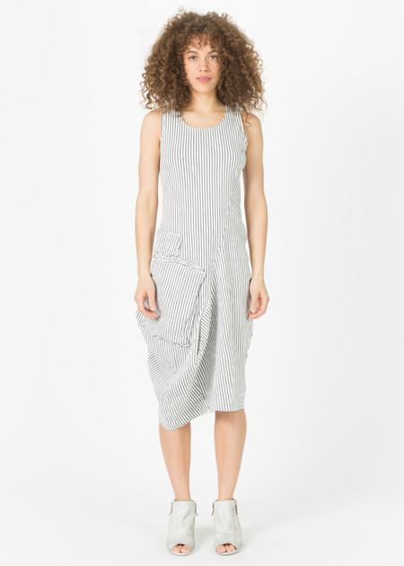 Rundholz Asymmetric Two Pocket Dress