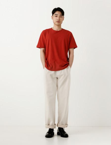 Margaret Howell MHL Patch Pocket Trouser Natural Denim