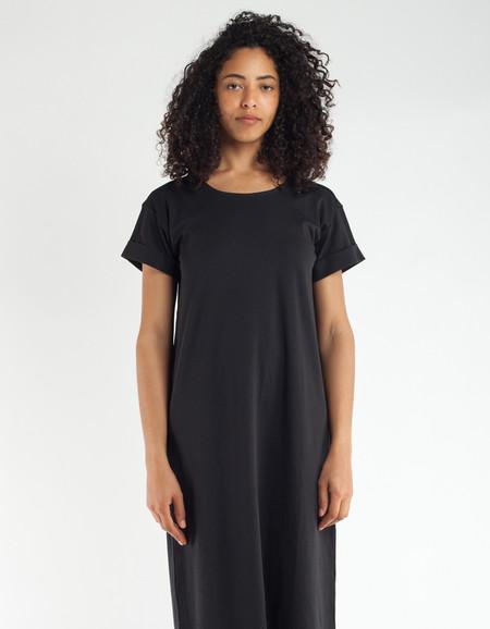 Ali Golden T-Shirt Dress Black