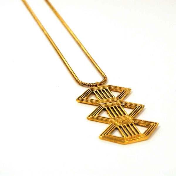 Gillian Steinhardt Triple Evil Eye Necklace