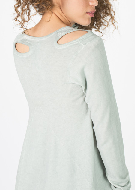 Rundholz  A-Line Cut Out Sweater